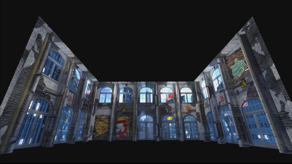 Create-Mastercard projection mapping berlin