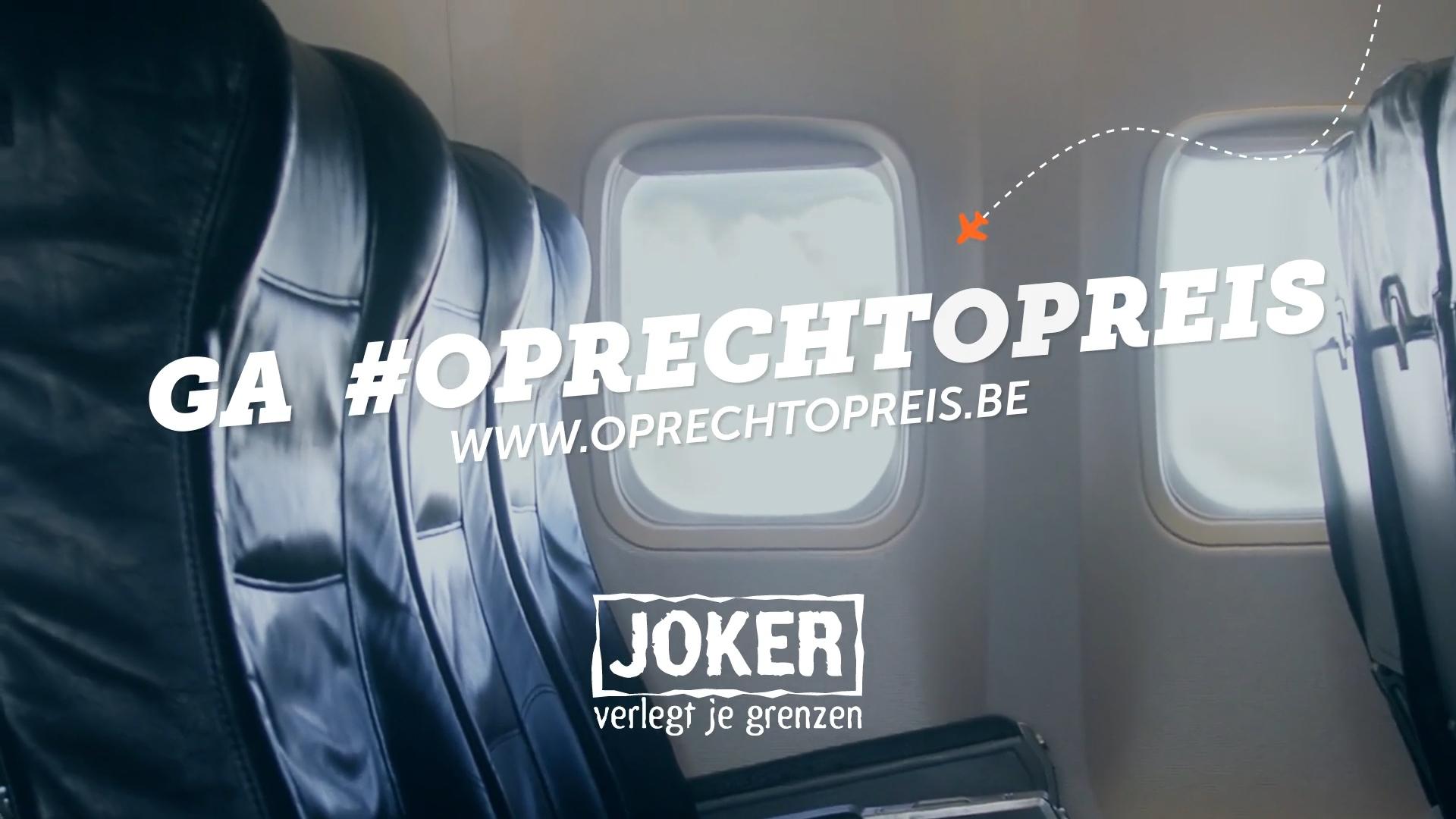 """Joker """"Ga oprecht op reis"""""""